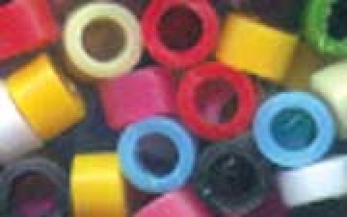 Plastic Indian Beads