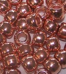 Jug Beads - Plastic Metallic Copper