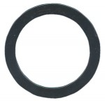 #12 Flat Round Shape - Black