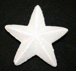 Decofoam Pointed Star - 120mm x 20pce/pkt
