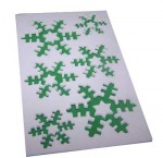 Adhesive Foam Snowflakes and Star Sheets