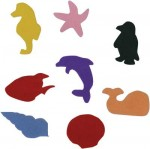 Felt Sea Shapes