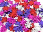 Sequin Flower Brights Metallic Multi 50gm/pkt