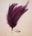 Cock Hackle Feathers - Purple