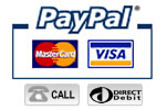 Paypal accept Visa and Mastercard
